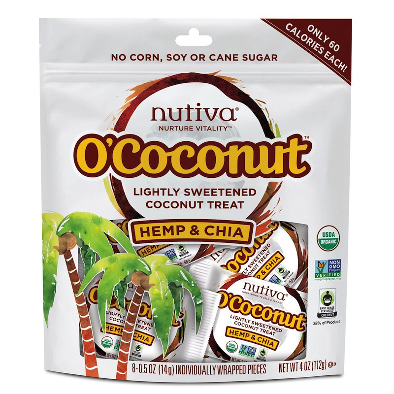 O'Coconut Hemp & Chia - Nutiva - Paleo Friendly, KETO Certified - Paleo Foundation