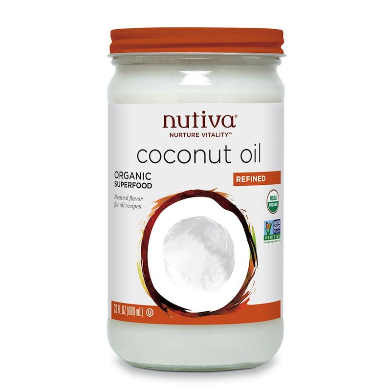 Organic Coconut Oil, Refined - Nutiva - Certified Paleo, KETO Certified - Paleo Foundation