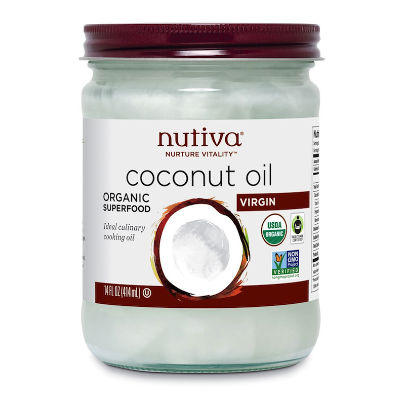 Organic Coconut Oil, Virgin - Nutiva - Certified Paleo, KETO Certified - Paleo Foundation