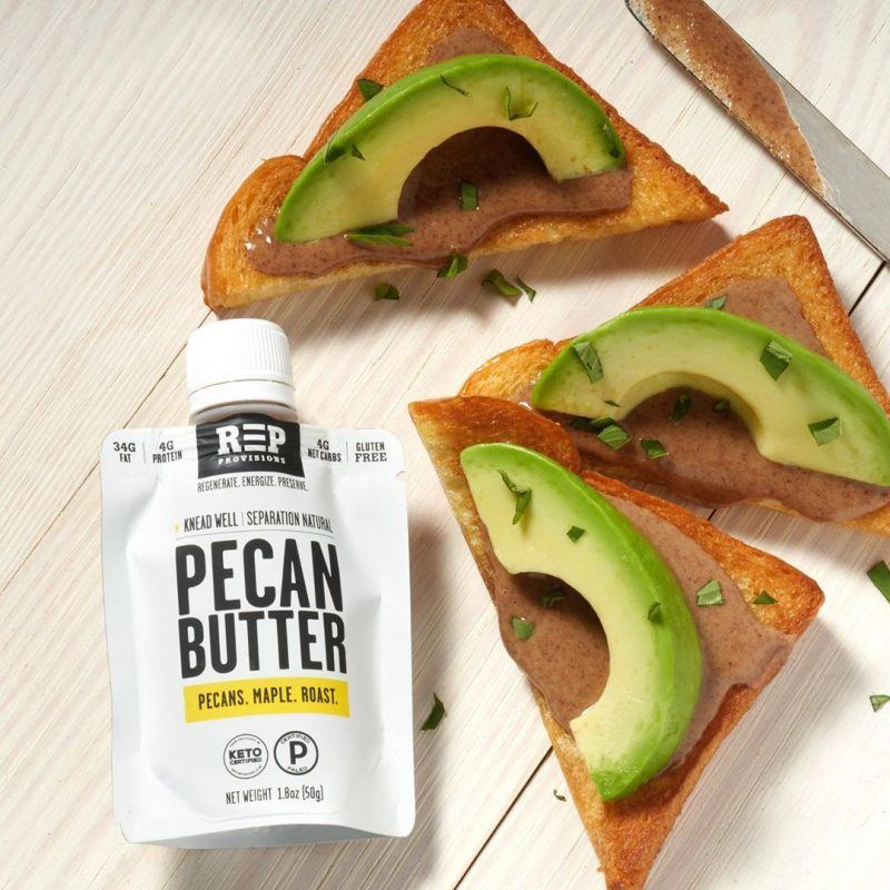 Pecan Butter & Toast - REP Provisions - Certified Paleo, KETO Certified by the Paleo Foundation