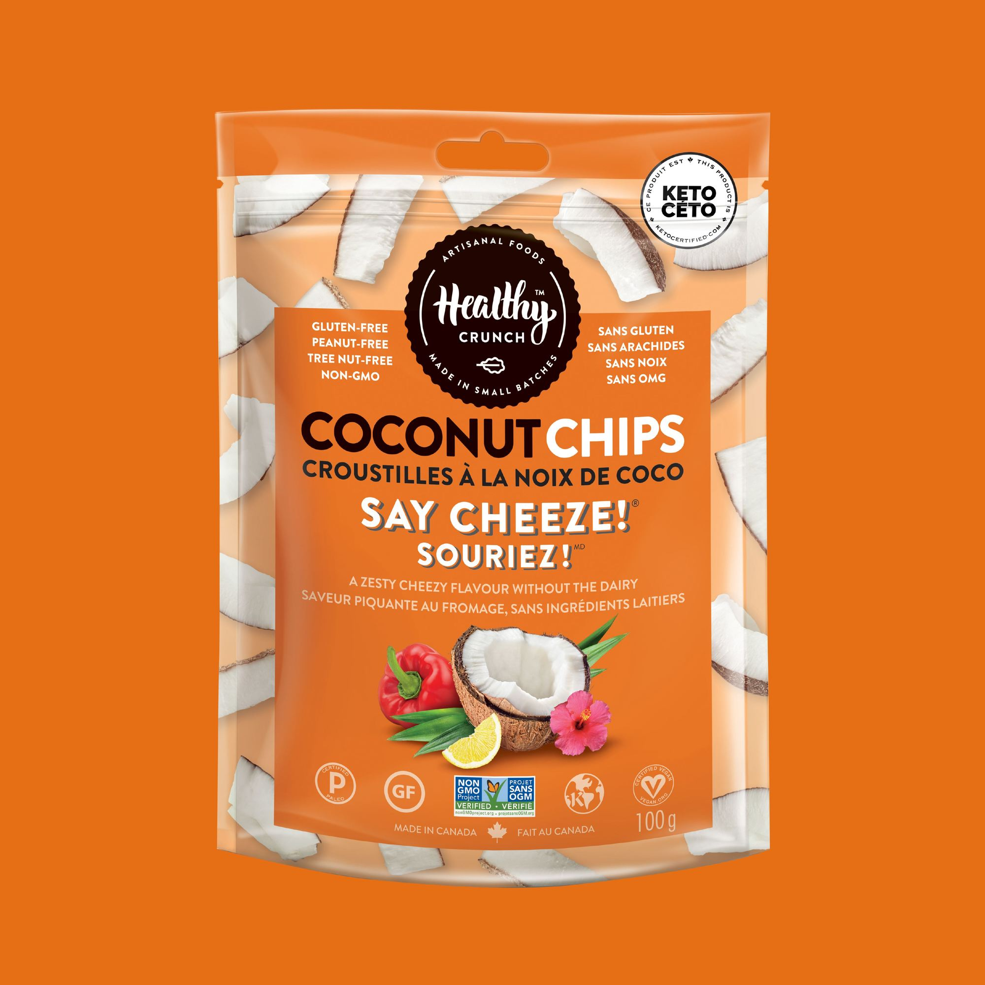 Say Cheeze! Coconut Chips