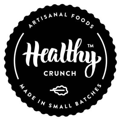 The Healthy Crunch Company logo - Certified Paleo, Keto Certified by the Paleo Foundation