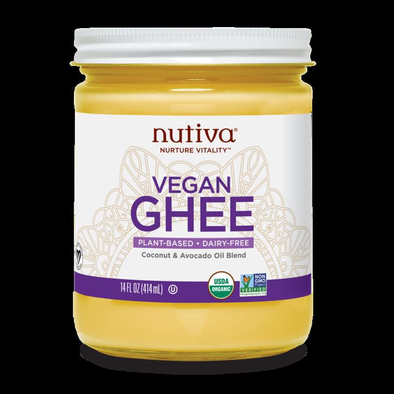 Vegan Ghee - Nutiva - Certified Paleo, Keto Certified by the Paleo Foundation