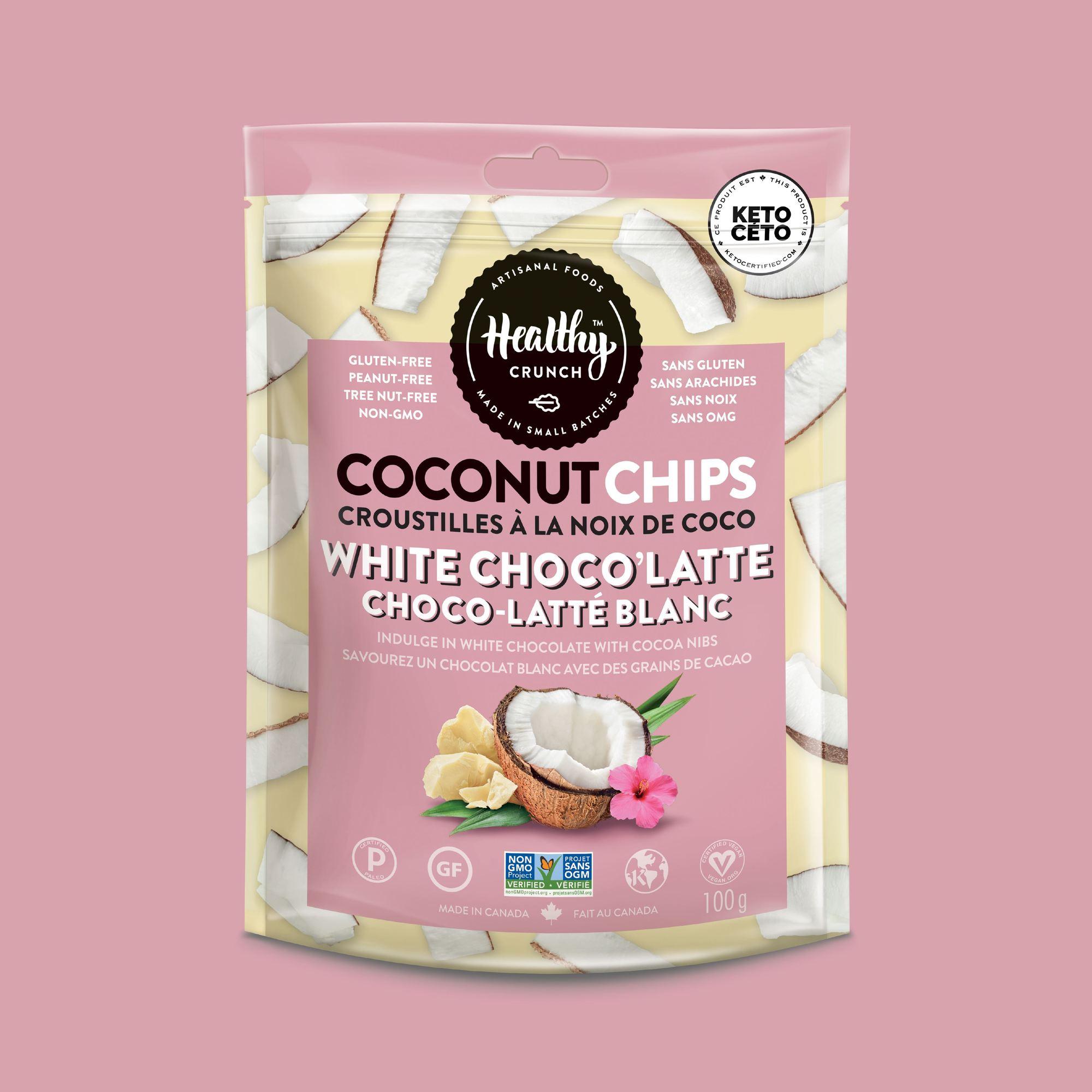 White Choco'Latte Coconut Chips