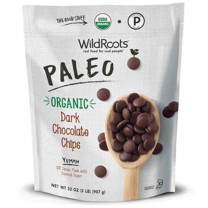 WildRoots Organic Paleo Chocolate Chips - Wild Roots - Continental Mills - Certified Paleo by the Paleo Foundation