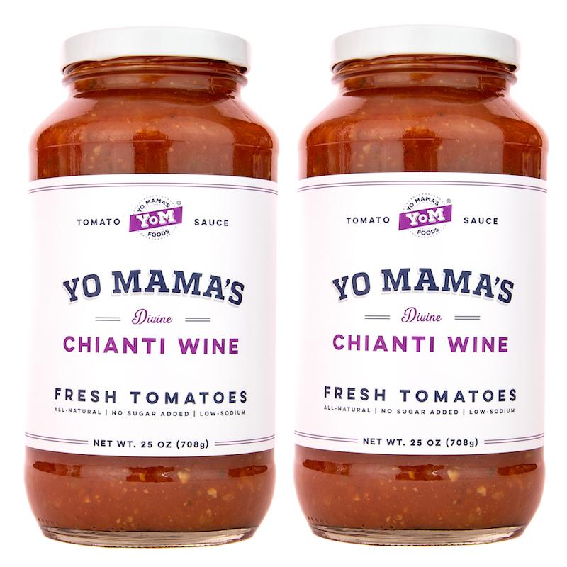 Yo Mama's Divine Chianti Wine - Yo Mama's Foods - KETO Certified - Paleo Foundation