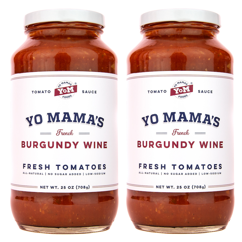 Yo Mama's French Burgundy Wine - Yo Mama's Foods - KETO Certified - Paleo Foundation