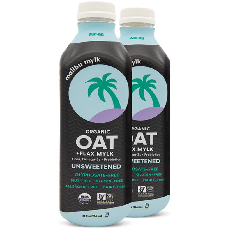 Oat + Flax Mylk - Malibu Mylk - Certified Paleo Keto Certified by the Paleo Foundation