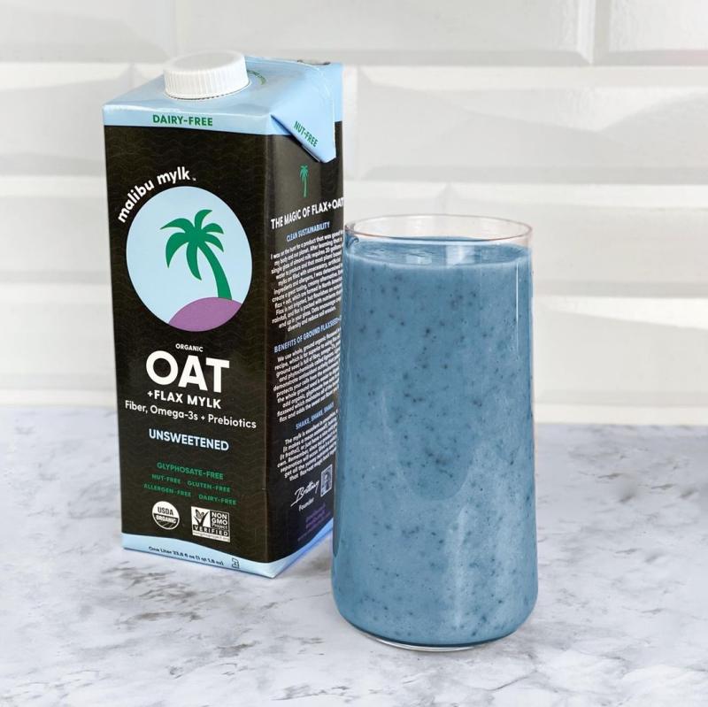 Oat Flax Smoothie - Malibu Mylk - Certified Paleo Keto Certified by the Paleo Foundation