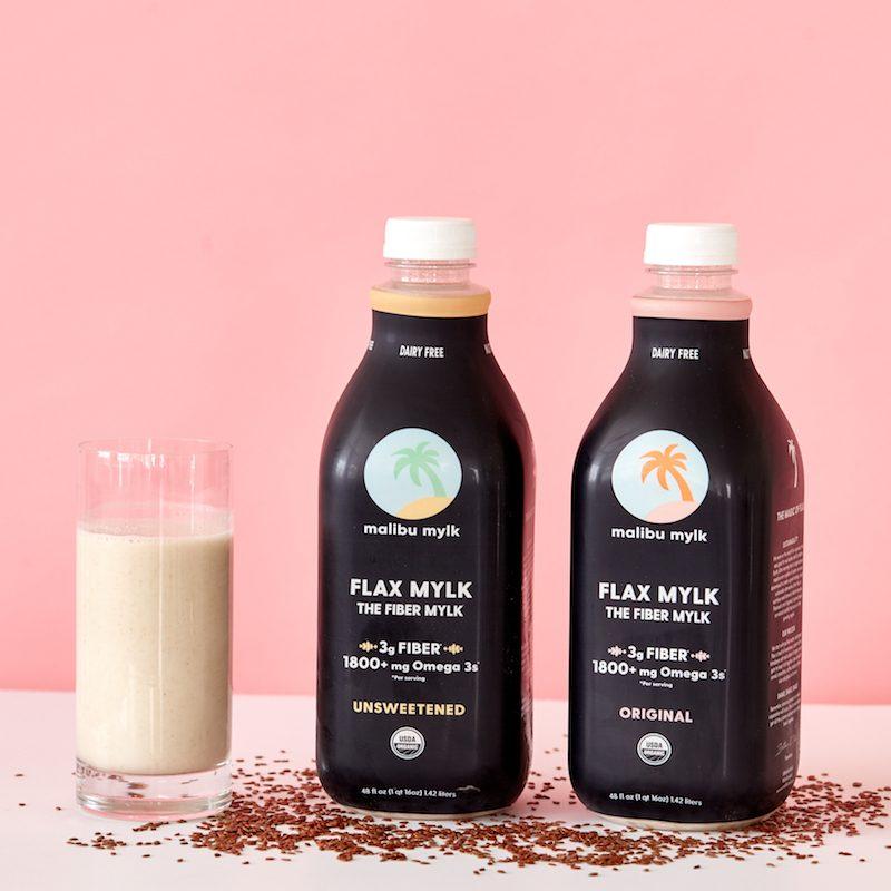 Original and Unsweetened Flax Mylk 2 - Malibu Mylk - Certified Paleo, KETO Certified - Paleo Foundation