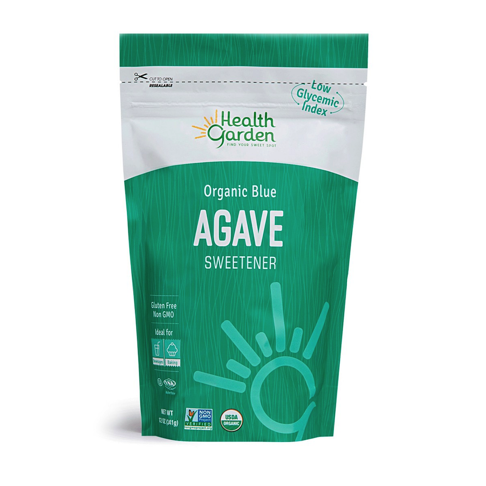 Agave Sweetener - Health Garden of USA - Certified Grain Free Gluten Free, Paleo Friendly, & PaleoVegan by the Paleo Foundation