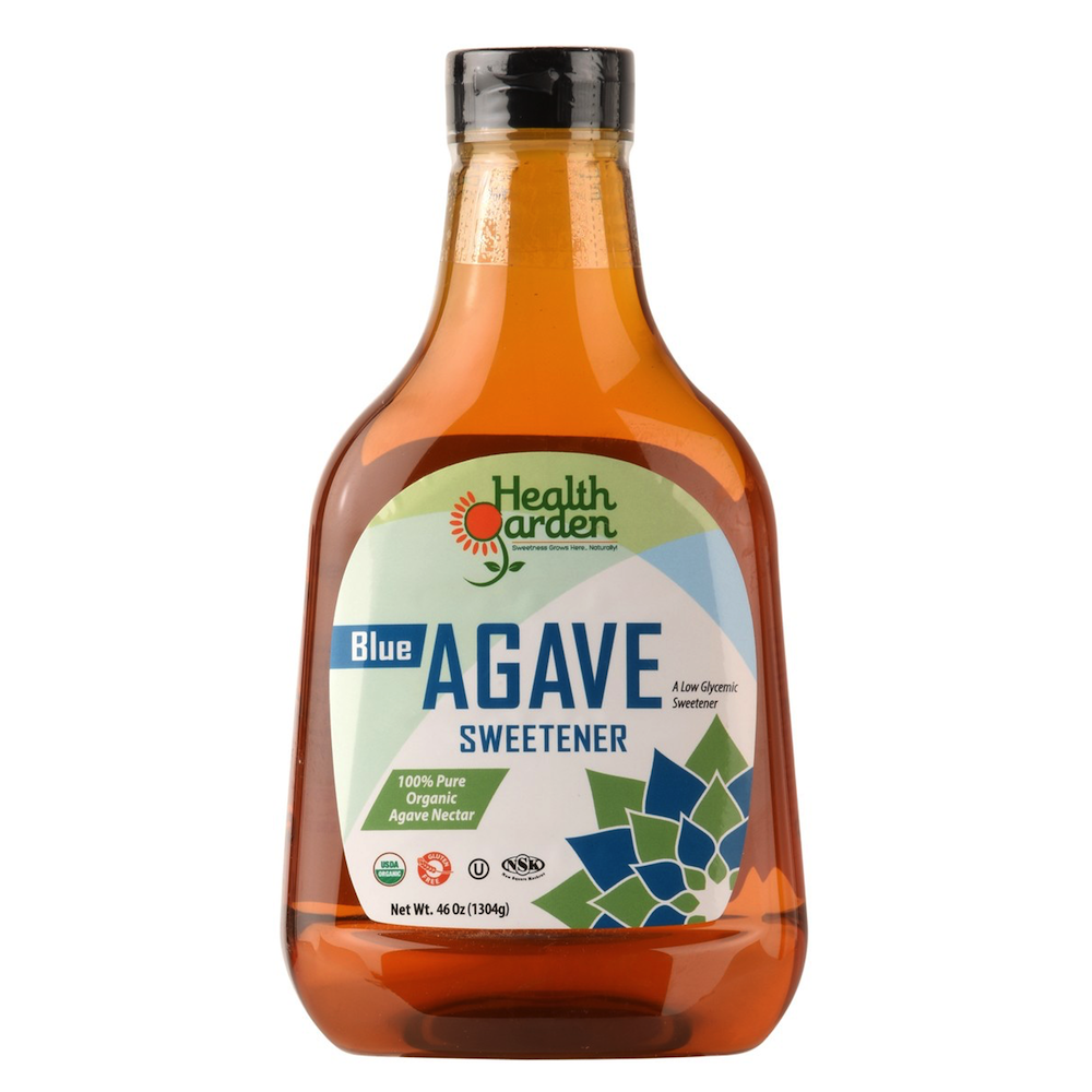 Blue Agave - Health Garden of USA - Certified Grain Free Gluten Free, Paleo Friendly, & PaleoVegan by the Paleo Foundation