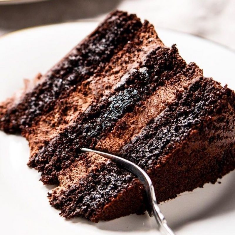 Chocolate Cake with Sugarless - Health Garden of USA - Keto Certified by the Paleo Foundation