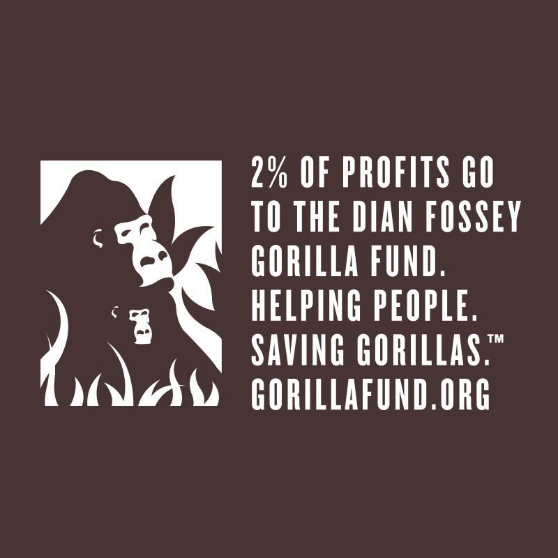 Dian Fossey Gorilla Fund - Gorilly Goods - Evolve Snacking - Certified Paleo by the Paleo Foundation