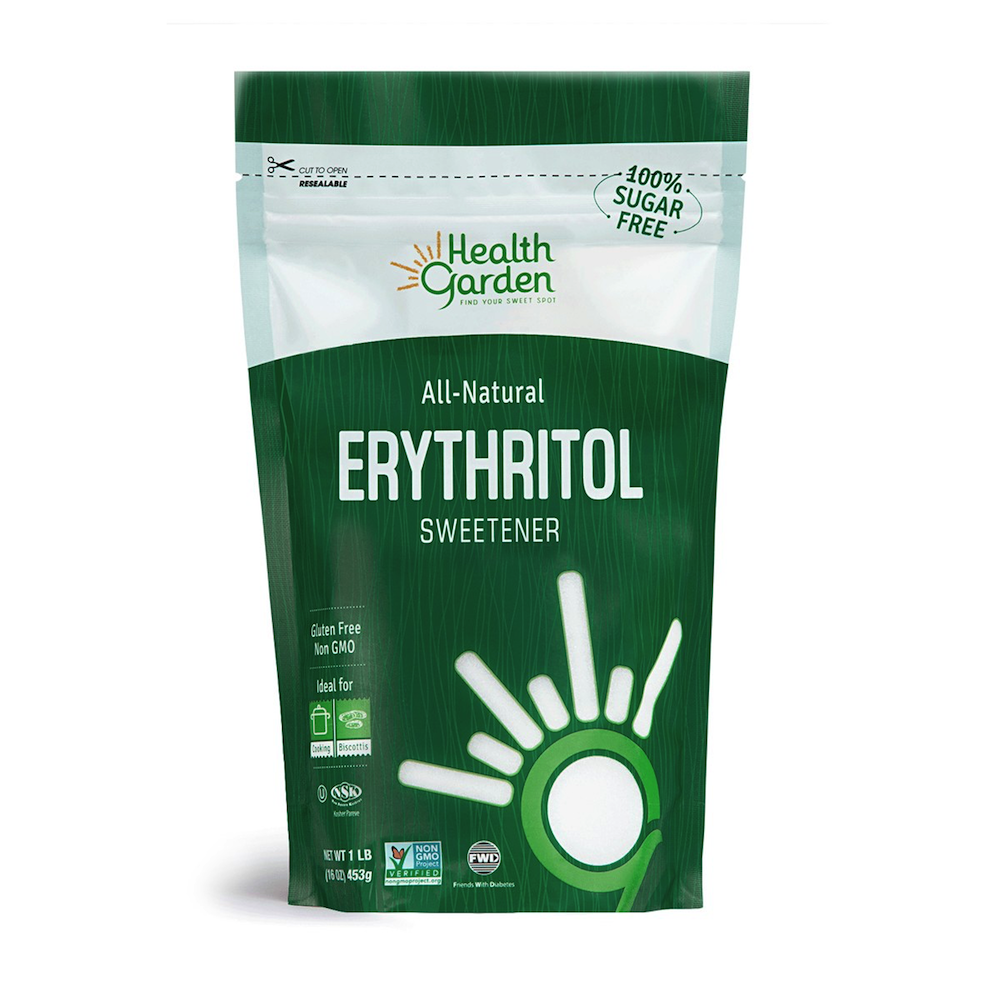 Erythritol - Health Garden of USA - Keto Certified by the Paleo Foundation
