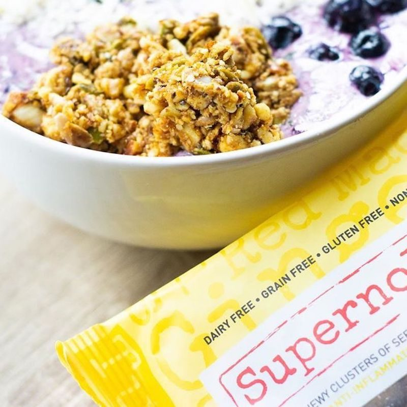 Pineapple Ginger Fusion - Supernola - Evolve Snacking - Certified Paleo by the Paleo Foundation