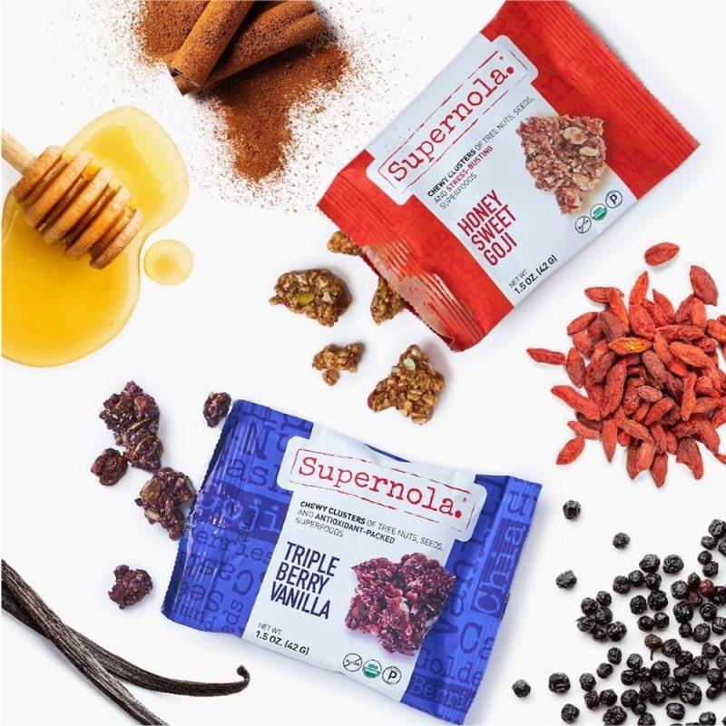 Triple Berry Vanilla & Honey Sweet Goji - Supernola - Evolve Snacking - Certified Paleo by the Paleo Foundation