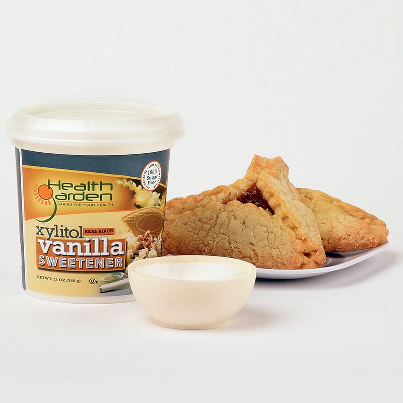 Xyltiol Vanilla Sweetener 1 - Health Garden of USA - Keto Certified by the Paleo Foundation