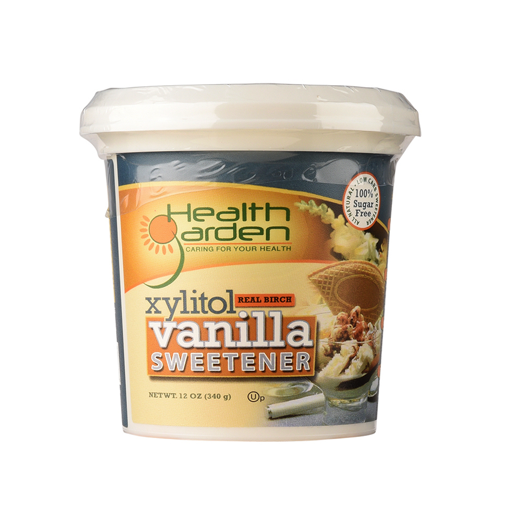Xyltiol Vanilla Sweetener - Health Garden of USA - Keto Certified by the Paleo Foundation