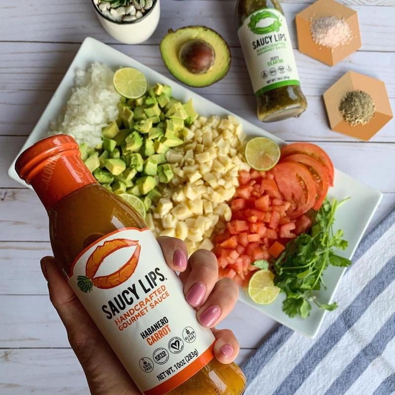 Habanero & Carrot Sauce - Saucy Lips - KETO Certified by the Paleo Foundation