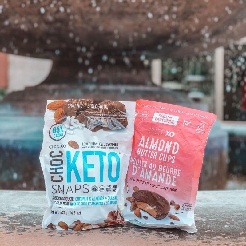 Keto Snaps & Almond Butter Cups 01 - ChocXO - Certified Paleo, KETO Certified by the Paleo Foundation