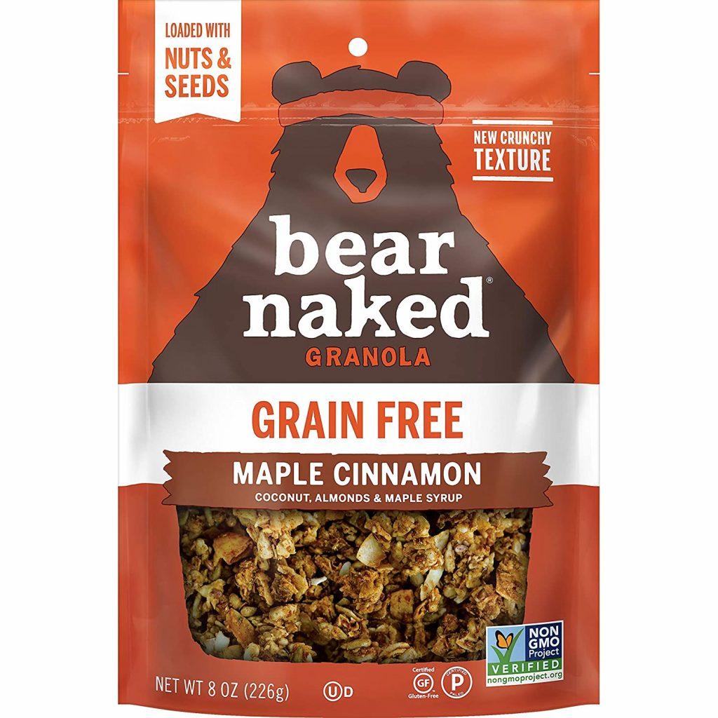 Maple Cinnamon Granola - Bear Naked Granola - Certified Paleo by the Paleo Foundation