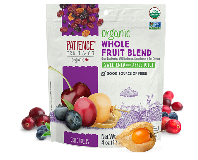 Organic Whole Fruit Blend - Patience Fruit & Co - Certified Paleo by the Paleo Foundation