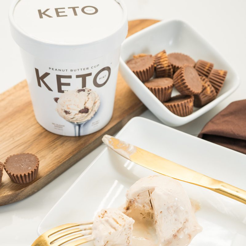 Peanut Butter Cup 2 - Keto Pint - KETO Certified by the Paleo Foundation