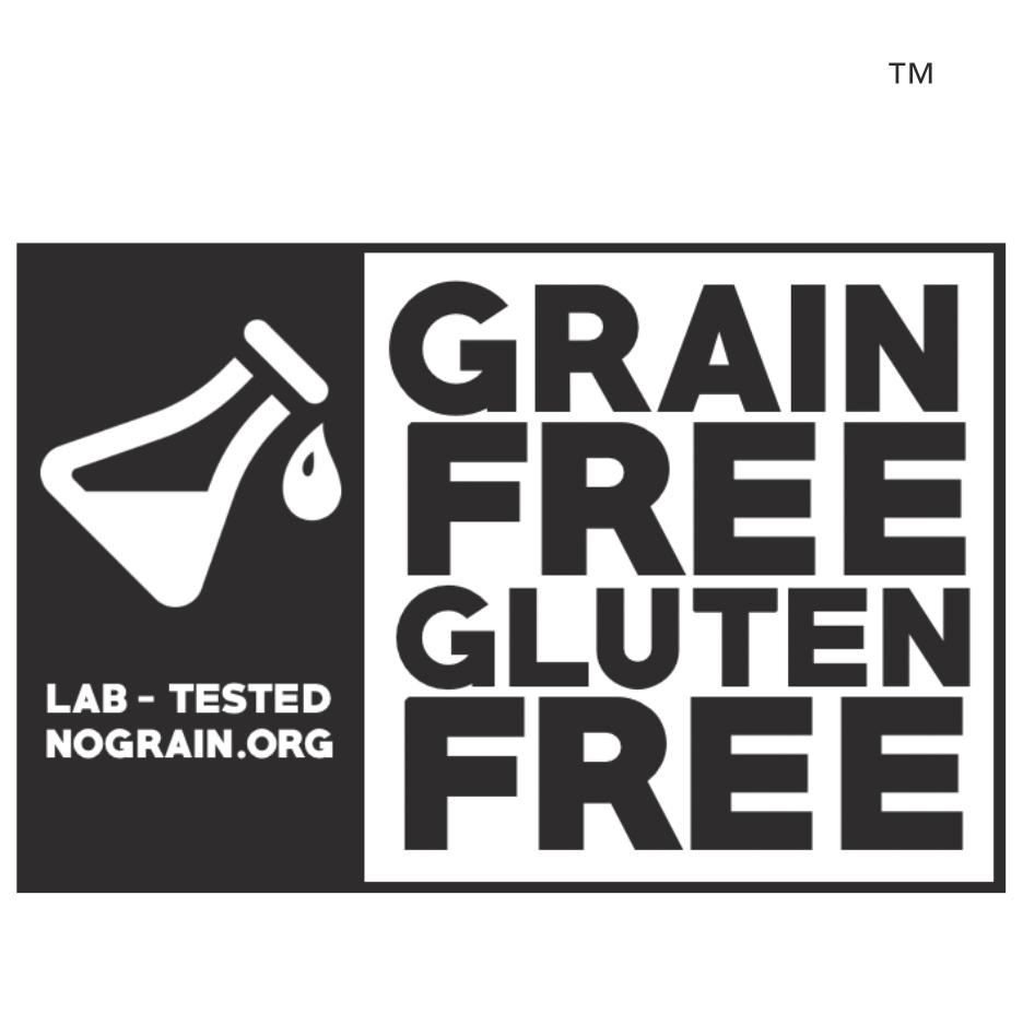 paleo foundation certified grain-free gluten free logo