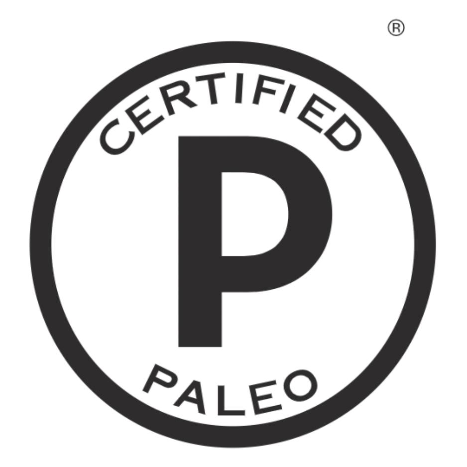 paleo foundation certified paleo logo