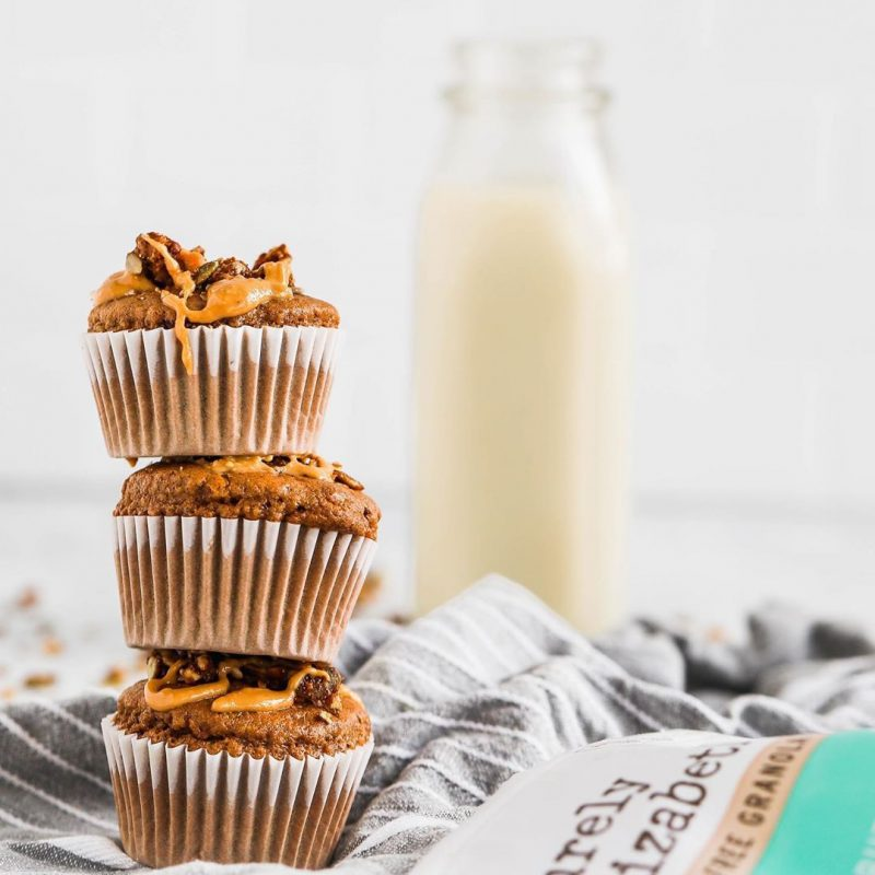 Almond Butter Granola Muffin 1 - Purely Elizabeth - Certified Paleo, KETO Certified by the Paleo Foundation