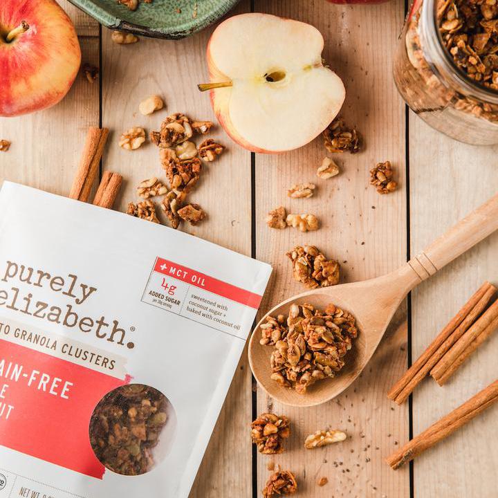 Apple Walnut Granola - Purely Elizabeth - Certified Paleo, Keto Certified by the Paleo Foundation