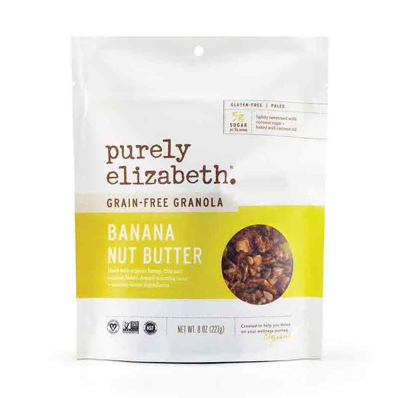 Banana Nut Butter Grain-Free Granola - Purely Elizabeth - Certified Paleo, KETO Certified by the Paleo Foundation