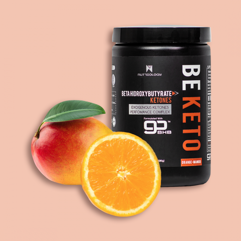 Be Keto Orange Mango lighter - Nutriology - Certified Paleo Friendly, PaleoVegan, and KETO Certifed by the Paleo Foundation