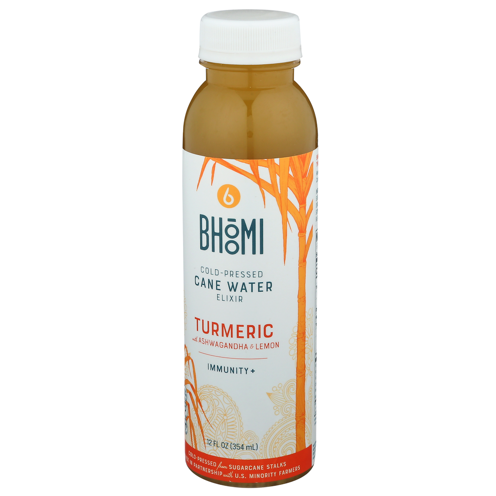Bhoomi Cane Water Turmeric + Ashwagandham - Bhoomi - Certified Paleo by the Paleo Foundation