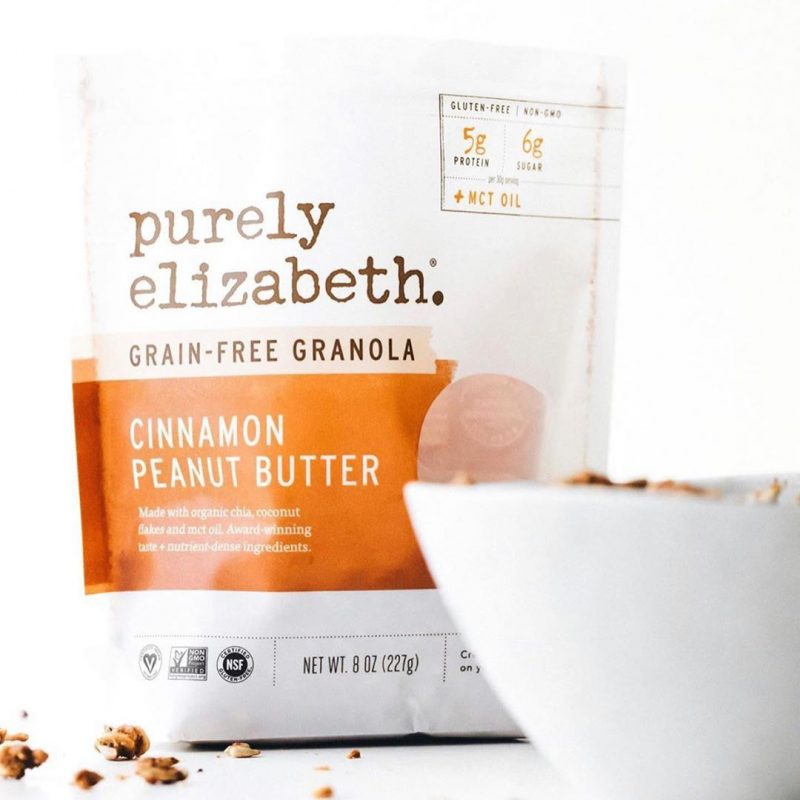 Cinnamon Peanut Butter Grain-Free Granola with MCT 2 - Purely Elizabeth - KETO Certified by the Paleo Foundation