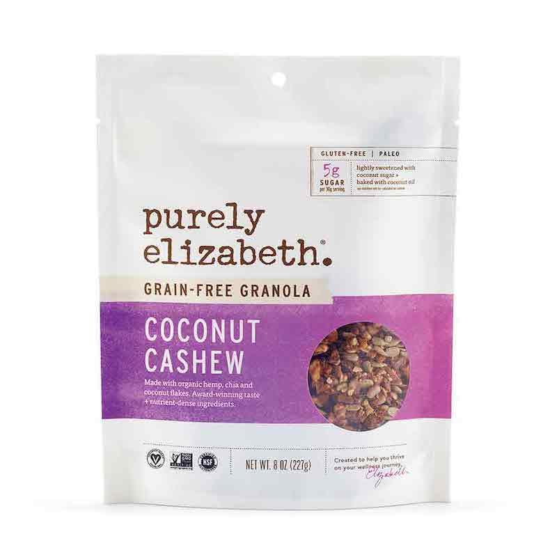 Coconut Cashew Grain-Free Granola - Purely Elizabeth - Certified Paleo, KETO Certified by the Paleo Foundation