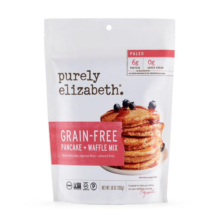 Grain Free Pancake And Waffle Mix - Purely Elizabeth - Certified Paleo Keto Certified by the Paleo Foundation