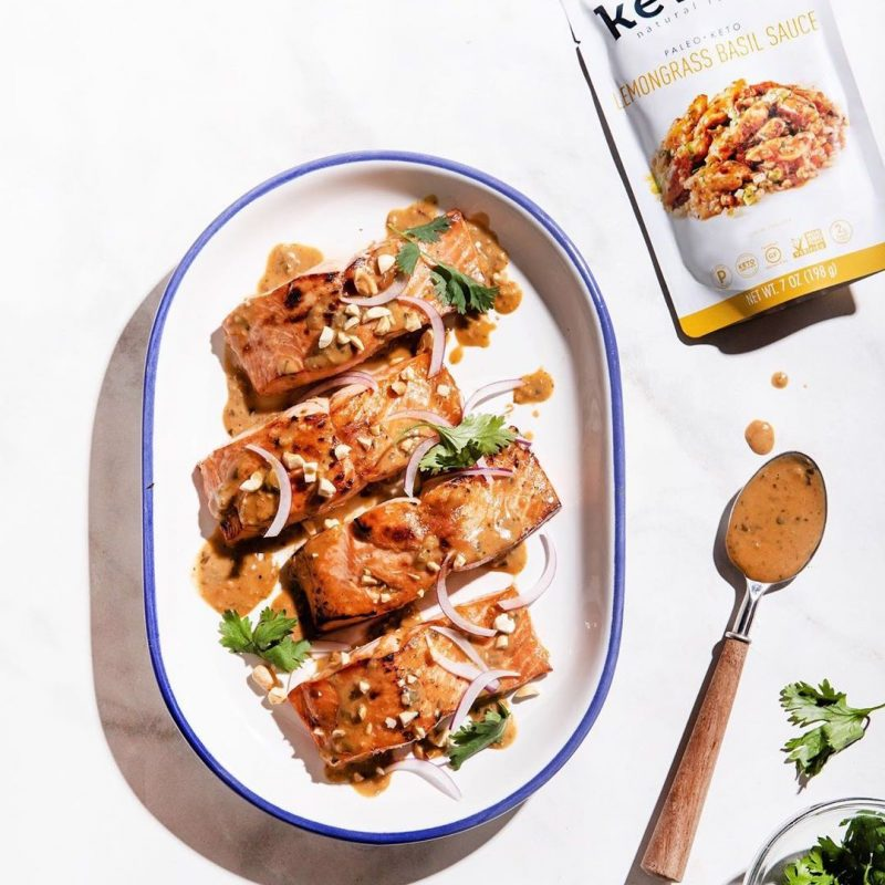 Lemongrass Basil Sauce 2 - Kevin's Natural Foods - Certified Paleo, KETO Certified by the Paleo Foundation