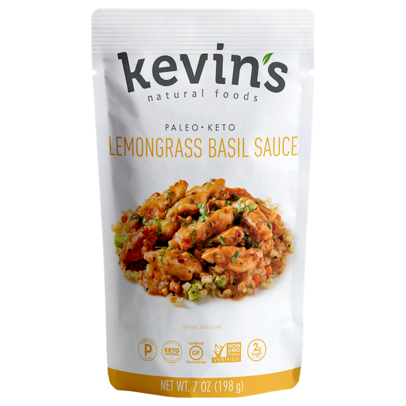 Lemongrass Basil Sauce - Kevin's Natural Foods - Certified Paleo, KETO Certified by the Paleo Foundation