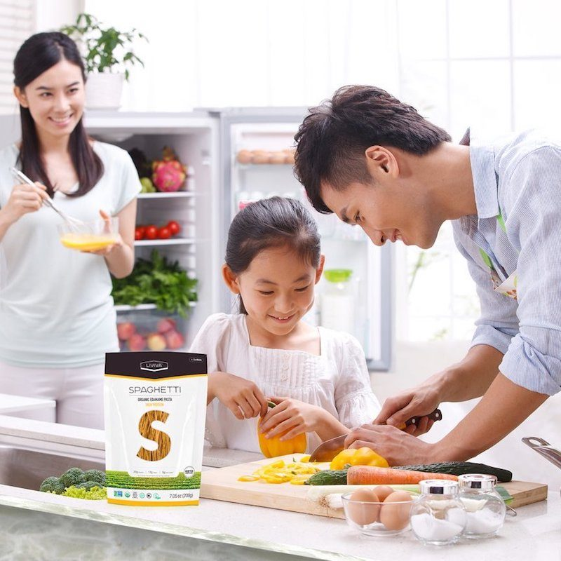 Organic Edamame Spaghetti 2 - Liviva Foods - KETO Certified by the Paleo Foundation