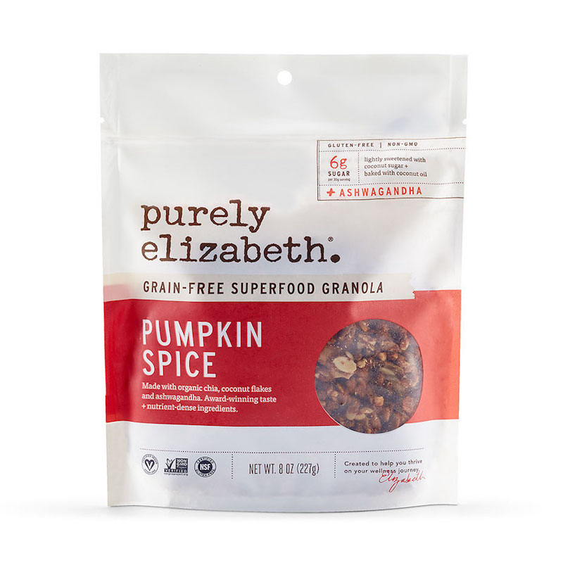 Pumpkin Spice Grain-Free Granola - Purely Elizabeth - Certified Paleo, KETO Certified by the Paleo Foundation