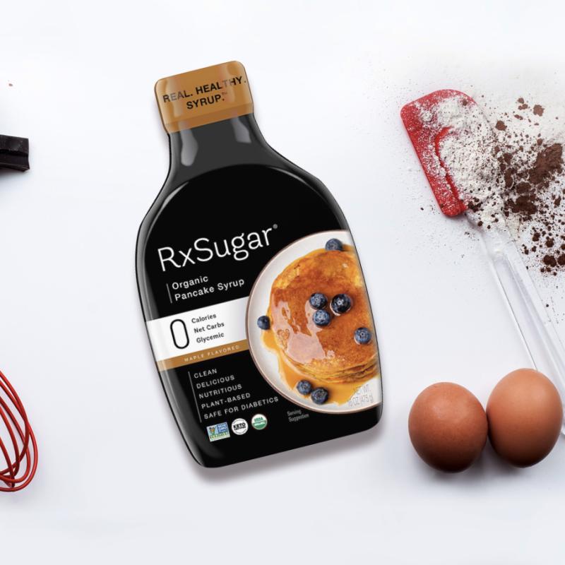 RxSugar Keto Certified organic Pancake Syrup