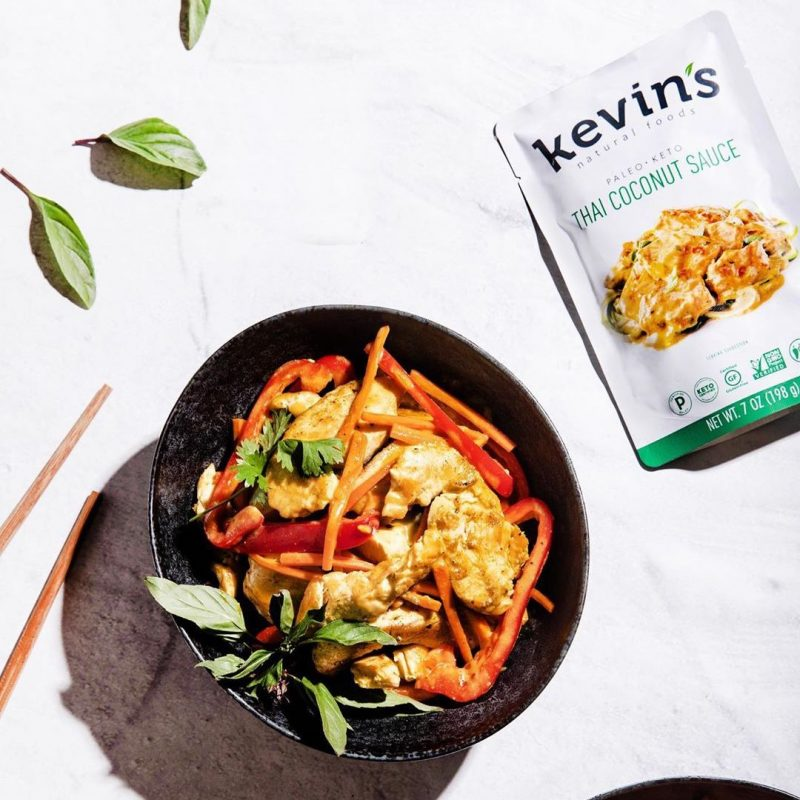 Kevin's Natural Foods Thai Coconut Sauce 2 - Kevin's Natural Foods - Certified Paleo, KETO Certified by the Paleo Foundation