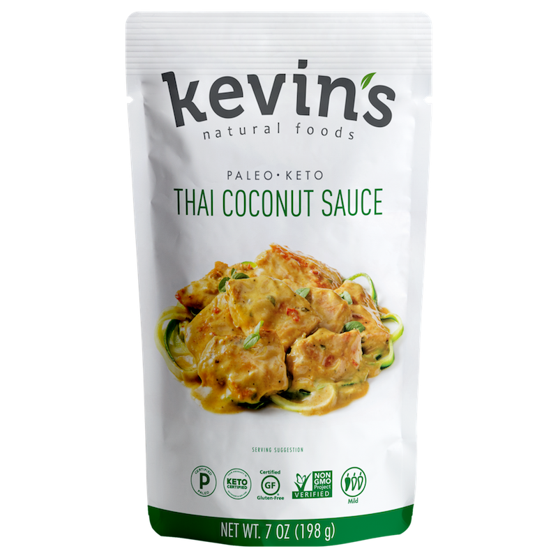 Thai Coconut Sauce - Kevin's Natural Foods - Certified Paleo, KETO Certified by the Paleo Foundation