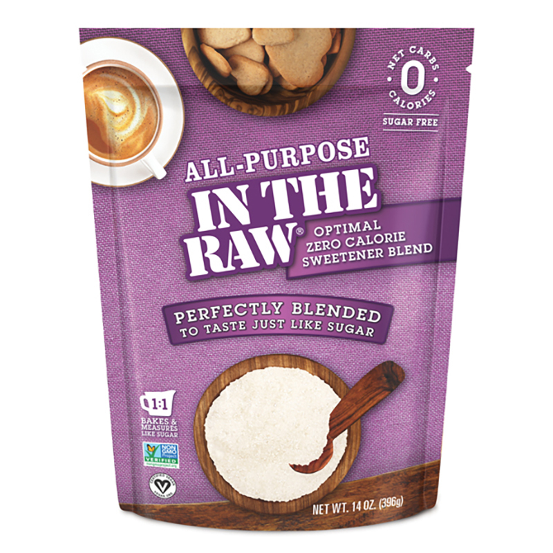 All-Purpose In The Raw Optimal Sweetener Blend - In The Raw - Keto Certified by the Paleo Foundation