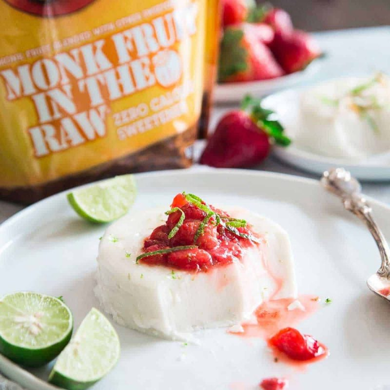 Monk Fruit In The Raw - Panna Cotta - Cumberland Packing Corp. - KETO Certified by the Paleo Foundation
