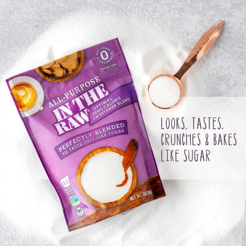 Optimal Zero Calorie Sweetener Gallery - In The Raw - Keto Certified by the Paleo Foundation