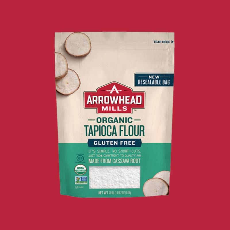 Organic Tapioca Flour - Arrowhead Mills - Certified Paleo by the Paleo Foundation