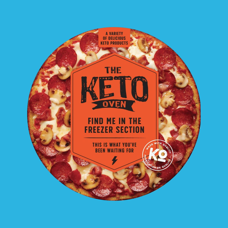 Signature Keto Pizza 2 - The Keto Oven - KETO Certified by the Paleo Foundation